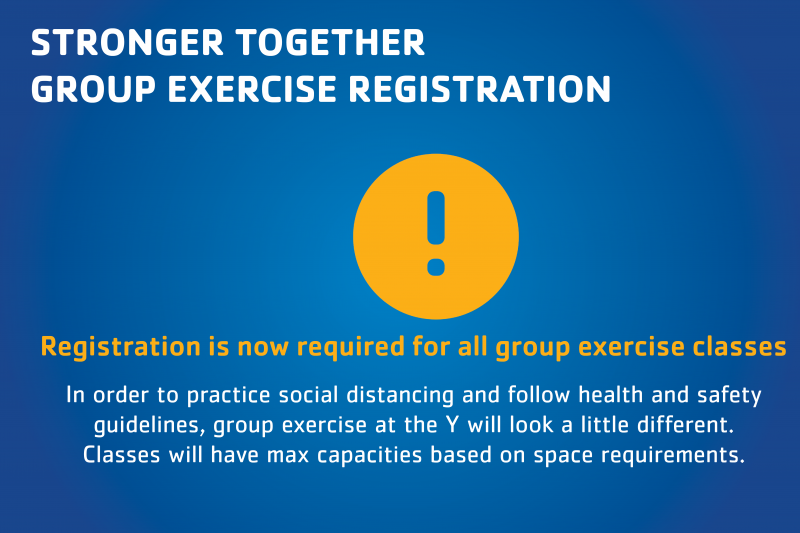Group Exercise Registration